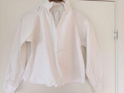 Bomullsskjorte, nøytral Embla Bunader