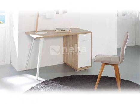 Bureau bois et blanc acheter bureau chambre blanc bois qualit pas