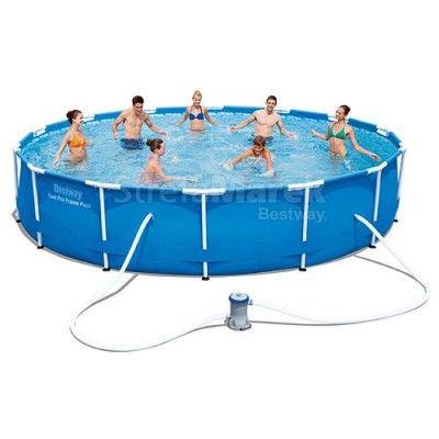Bestway 50055 Steel Pro Max 427x84 M Filter Pumpa Swimming Pool Sales Best Above Ground Pool Bestway