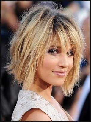 Der Shag Trendfrisur 2016 Kurz Bis Mittellang Durchgestuft Und Einfache Frisuren Messy Bob Hairstyles Medium Hair Styles Bob Hairstyles
