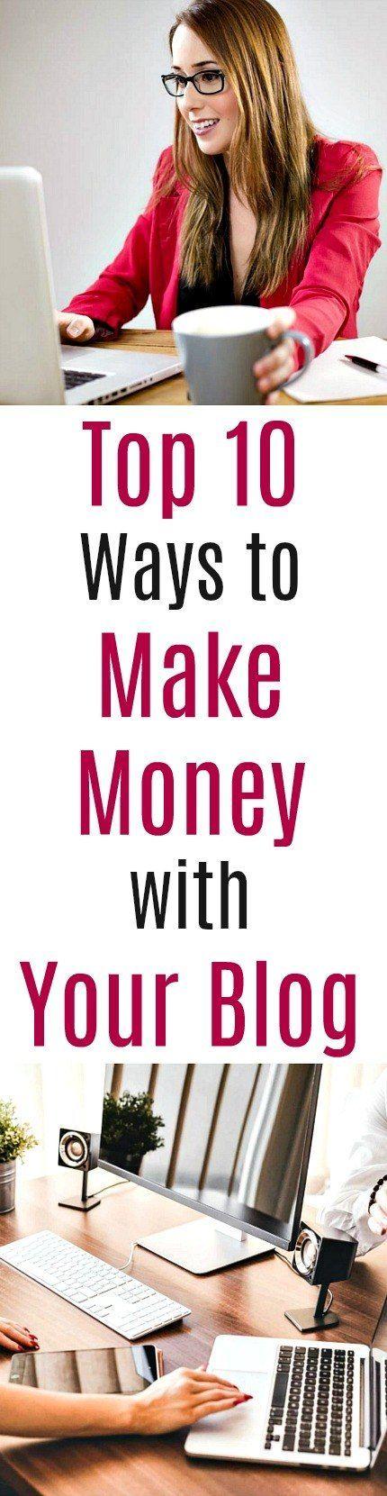 Top Ways To Make Money Online