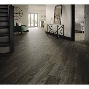 Wickes Heartwood Grey Oak Wood Effect Porcelain Wall Floor Tile 850 X 200mm In 2020 Wood Effect Porcelain Tiles Wood Effect Tiles Flooring