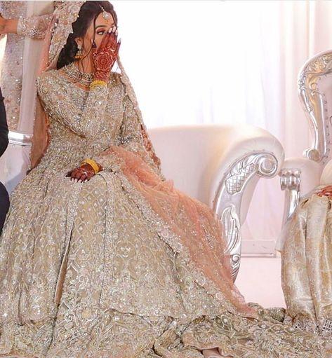 pakistani wedding dresses Gorgeous jacket style bridal lehenga with zarkan work all over. Asian Bridal Dresses, Indian Bridal Outfits, Pakistani Wedding Outfits, Indian Bridal Lehenga, Pakistani Bridal Dresses, Pakistani Wedding Dresses, Pakistani Dress Design, Indian Dresses, Pakistani Wedding Photography