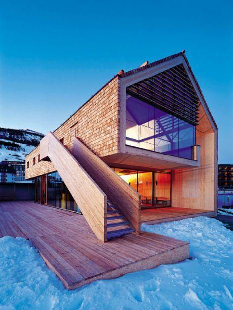 Moderner holzbau satteldach  Einfamilienhaus Roesrath - Einfamilienhäuser | Architektur ...