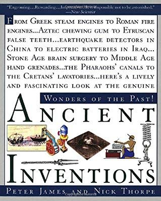 Ancient Inventions Peter James Nick Thorpe 9780345401021