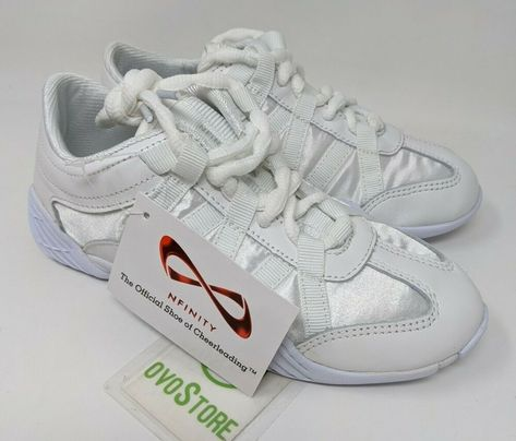 Nfinity Evolution Youth Cheer Shoe Size Y3 White 1 696859050428 Ebay In 2020 Cheer Shoes Youth Cheer Shoes Official Shoes