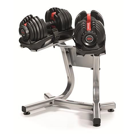 Bowflex Bowflex Selecttech Dumbbell Stand With Built In Towel Rack Weights Not Included 2 Bowflex Bowflex Dumbbells Adjustable Dumbbells