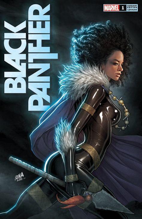 SIGNED W/ COA BLACK PANTHER #1 UNKNOWN COMICS DAVID NAKAYAMA EXCLUSIVE VAR (02/23/2022)