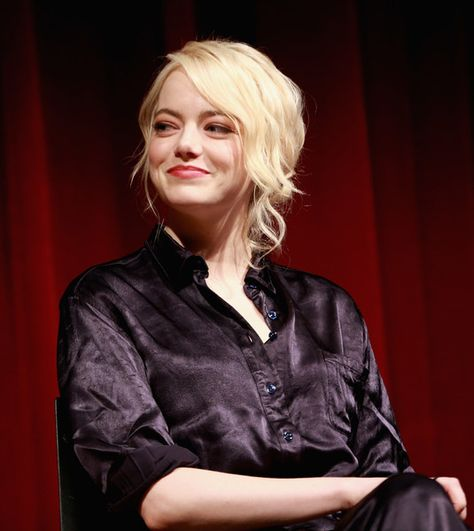 Emma Stone attends as The Academy of Motion Picture Arts & Sciences Hosts an Official Academy Screening of 'THE BATTLE OF THE SEXES.'