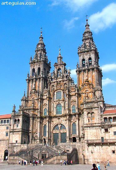 Pin On Catedral Santiago De Compostela 1075