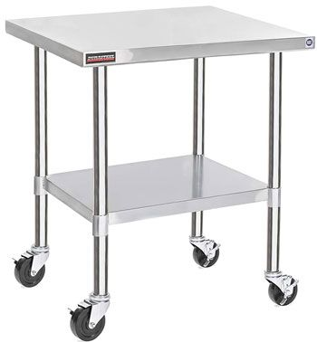 Top 10 Best Stainless Steel Work Tables And Kitchen Prep Table 2020 Stainless Steel Work Table Kitchen Prep Table Work Table