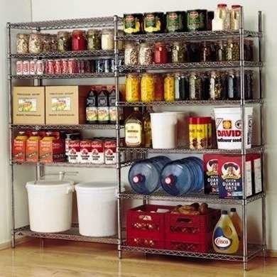 11 Reasons Metal Shelving Isn T Just For Your Garage Food
