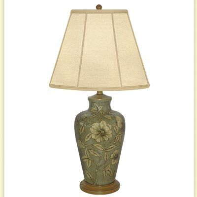 Jb Hirsch Expose Flower Hand Painted Porcelain 30 Table Lamp Table Lamp Hand Painted Porcelain Porcelain Painting