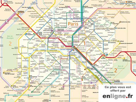Resultat De Recherche D Images Pour Plan De Paris Imprimable