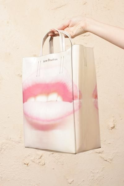 f8eab550bfe Baker AP Shopper Pink in 2019 | Acne Studios | Paper grocery bags ...