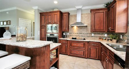 Photo Of A Open Kitchen With European Range Hood Manufactured Homes Floor Plans Modular Homes Manufactured Home