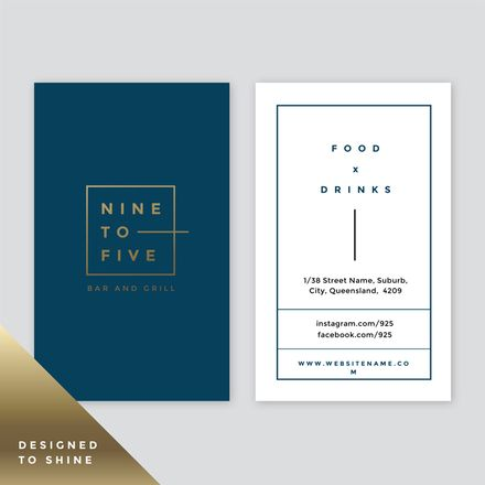 Creative Great Looking Business Card Shaped Business Cards Business Cards Vector Templates Vector Business Card