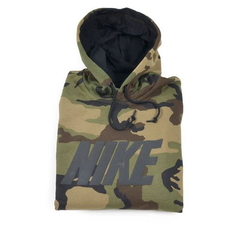 sale online official images best sell Nike Felpe Club Hoody, Woodland Camo (€65) ❤ liked on ...