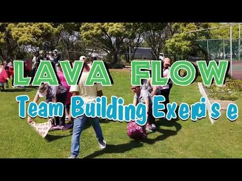Lava Flow Team Building Exercise Facilitated By TBAE