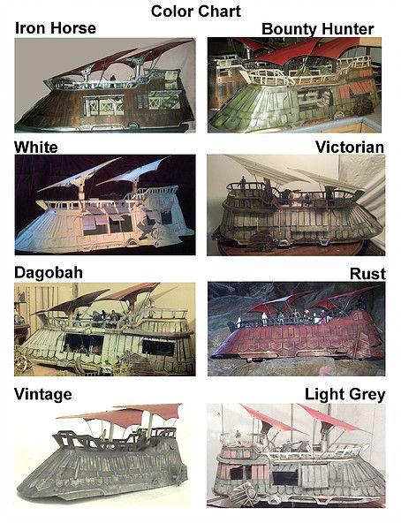 Barge Order Form Star Wars Jabbau0027s Sail Barges Pinterest - vehicle order form