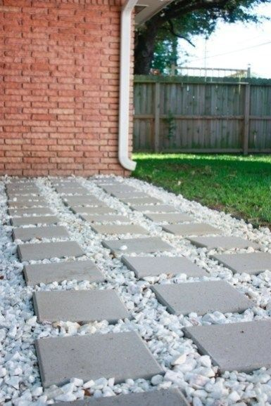 40 Brilliant Ground Gutter On The Garden Drainage Solutions Backyard Drainage Paver Patio