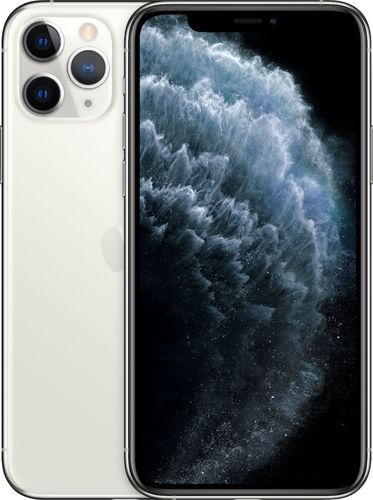 Apple Iphone 11 Pro 256gb Silver Sprint Mwcn2ll A Best Buy In 2021 Simple Mobile Apple Iphone Iphone