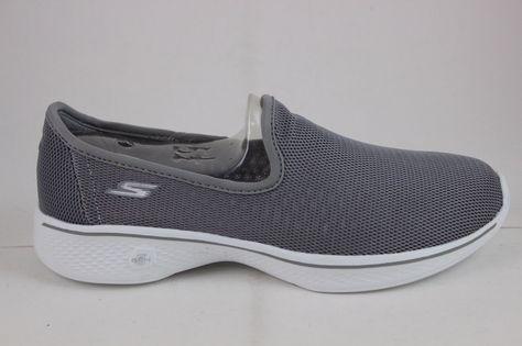 Dormido Continuamente fondo  Skechers Go Walk 4-Airy 14906 Gray Brand Goga Max Technology