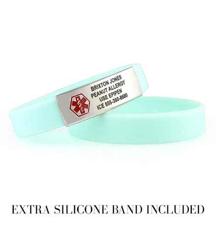 Epi Pen jewelry allergy jewelry medical id bracelet Epi Pen bracelet allergy bracelet medical id jewelry