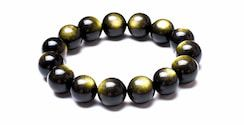 ᐈ Cómo Usar La Piedra Obsidiana Negra Sin Peligro Guía 2020 Obsidiana Dorada Pulseras De Cuentas Piedra Obsidiana