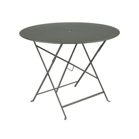 Table de jardin de repas Bistro ronde romarin 4 personnes ...