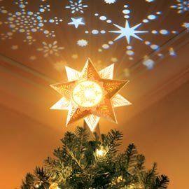 Illuminations Starlight Tree Topper Requires Power Box