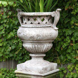Orlandistatuary Fiberstone Planter Wayfair Urn Planters Outdoor Urns Garden Urns