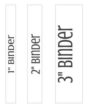 Binder Covers And Spine Labels Binder Spine Labels Binder Labels Editable Binder Covers