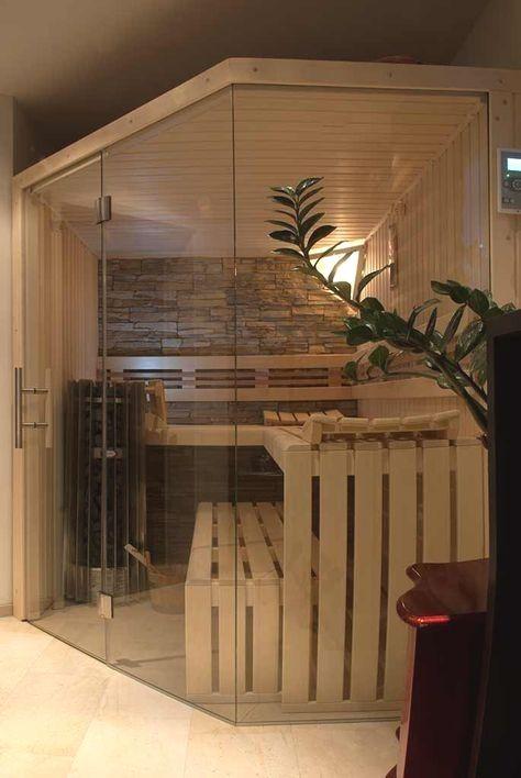 Apartsauna Design Front Garage Glass Hobbyraum Individually Luxurious Sauna Transparent Front Sauna Fur Zuhause Badezimmer Mit Sauna Sauna