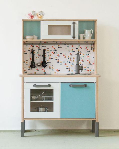 Aufkleber, Sticker und Folien für IKEA Spielküche DUKTIG - folie für küchenfront