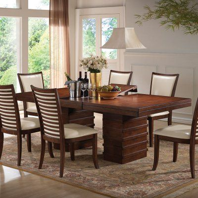 Acme Furniture Pacifica Rectangular Dining Table  Acm1236  Acme Magnificent Acme Dining Room Set Design Inspiration