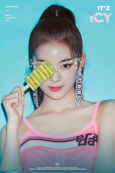 ITZY unveils teaser images for ITz ICY featuring
