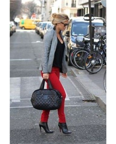 862ce3222da6 Quilted  Chanel gets puffy and nylon when spotted on  BarRafaeli tote.