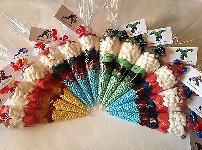 Mehndi Party Bags : Pre filled sweet cones personalised hen party wedding favour