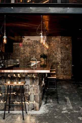 17 Industrial Home Bar Designs For Your New Home Rustic Basement