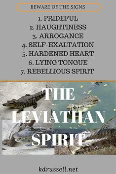 The Leviathan Spirit    | spirits | Jezebel spirit, Learn