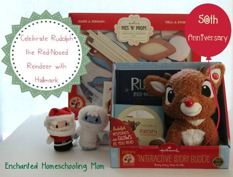 Celebrate the 50th Anniversary of Rudolph the Red-Nosed Reindeer with Hallmark | Enchanted Homeschooling Mom | Enchanted Homeschooling Mom