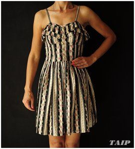 Atmosphere Efektowna Sukienka Kwiatki 36 38 6395887243 Oficjalne Archiwum Allegro Dresses Fashion Sleeveless Dress