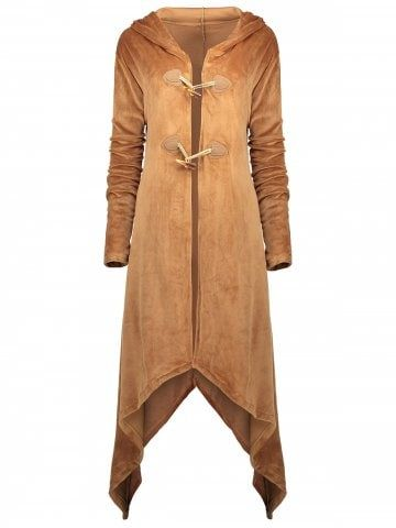 plus size duffle coat