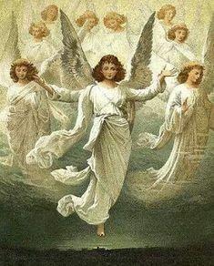 Oracao Eu Tenho A Forca Do Espirito Santo Arte De Anjo Anjos