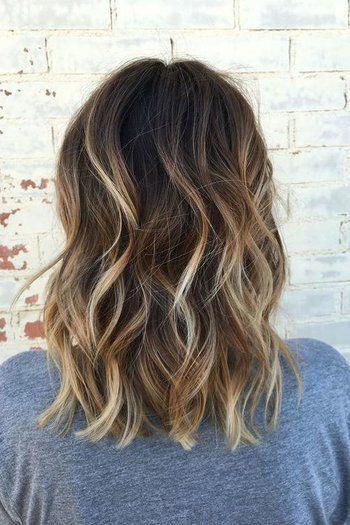 15+ Short hair dark brown balayage inspirations
