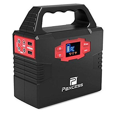 Amazon Com 100 Watt Portable Generator Power Station Cpap Battery Pack Home Camping Emergency Solar Generator Portable Power Supply Portable Solar Generator
