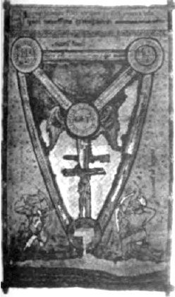 """Shield of the Trinity,"""" in the British Museum, which turns out to be ..."""