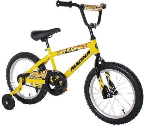 Boys Magna Major Damage Bike 16 Inch Coaster Brake Hot Wheels