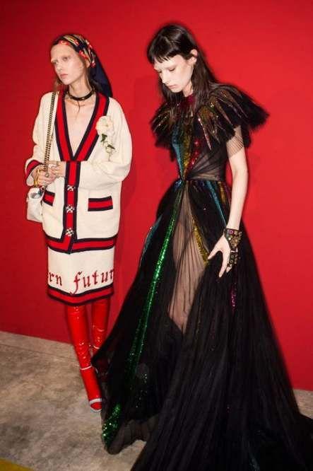 Best fashion show backstage models gucci spring Ideas